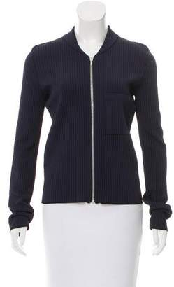 Calvin Klein Collection Zip-Up Cardigan