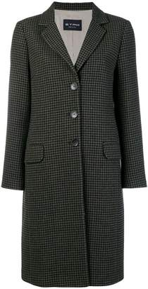 Etro houndstooth coat