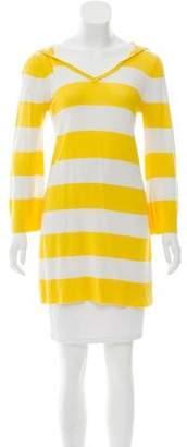 Alice + Olivia Striped Hooded Tunic
