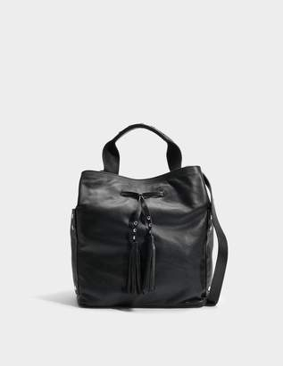 Gerard Darel Saxo Bag in Black Leather