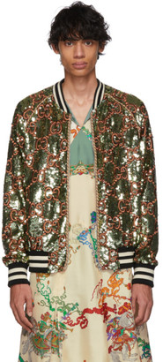 9d59639c Mens Sequin Bomber Jacket - ShopStyle