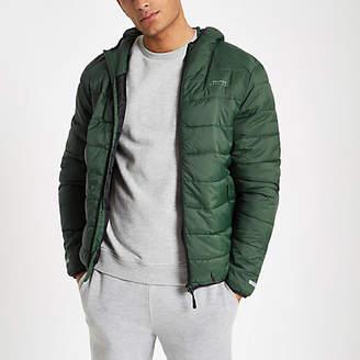 Bellfield green puffer jacket