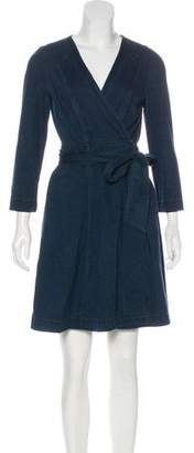 Diane von Furstenberg Denim Wrap Dress