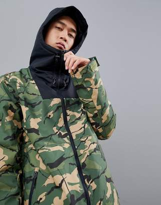 Wear Colour Wear Color Block Jacket in Camo