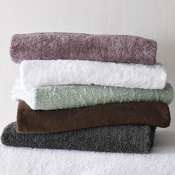 Organic Cotton Solid Towels