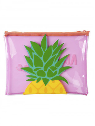 Sunnylife PINEAPPLE BEACH POUCH $12 thestylecure.com