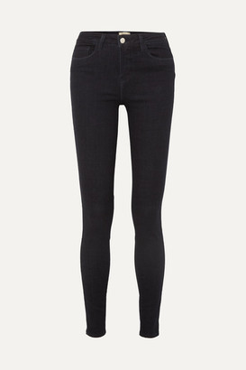L'Agence The Marguerite High-rise Skinny Jeans - Navy