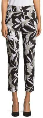 Context Tropical Silhouette Ankle Pants