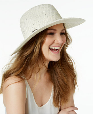 Calvin Klein Sequined Sun Hat $48 thestylecure.com