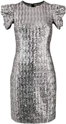 Michael Kors glitter detail shortsleeved dress