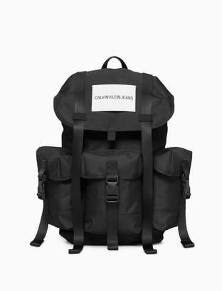 Calvin Klein sport essentials logo 3 pocket rucksack backpack