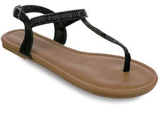 OLIVIA MILLER Melbourne Multi Rhinestone Sandals Women Shoes