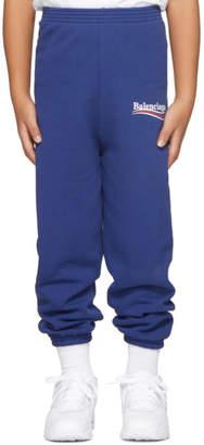 Balenciaga Boy Blue Campaign Logo Lounge Pants