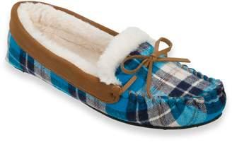 Dearfoams Women's Knit Moccasin Slippers