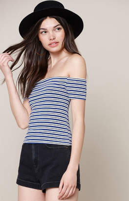 PS Basics by Pacsun Spring Break Off-The-Shoulder Top