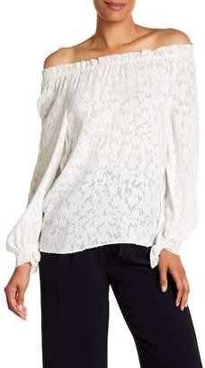 Rebecca Taylor Long Sleeve Knit Blouse