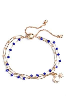 Treasure & Bond Rosary Bead Layered Bracelet