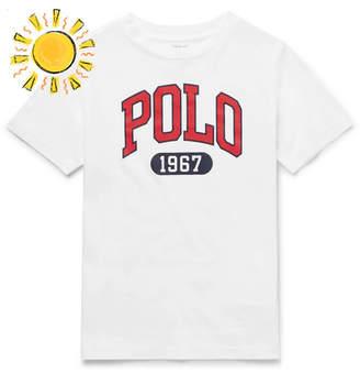 Polo Ralph Lauren Boys Ages 8 - 10 Logo-print Cotton-jersey T-shirt