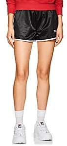 Fila Women's Satin Track Shorts - Black