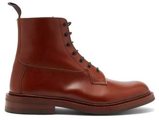 Tricker's Burford Leather Derby Boots - Mens - Brown