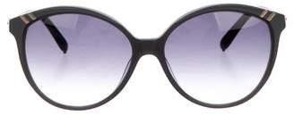Chloé Gradient Round Sunglasses