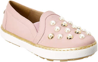Stuart Weitzman Girls' Leather Sneaker