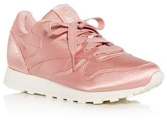 Reebok Women's Classic Satin Lace Up Sneakers Free Shipping Sneakernews BqjU0ej