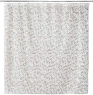 Famous Home Fashions Alexa Burnout Shower Curtain