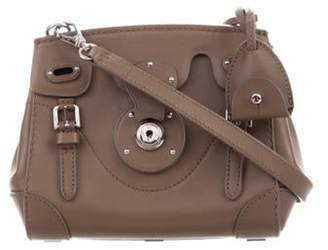 Ralph Lauren Leather Ricky Crossbody Brown Leather Ricky Crossbody