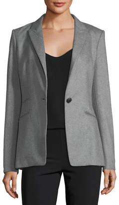 Rag & Bone Duke Wool-Blend One-Button Tailored Blazer