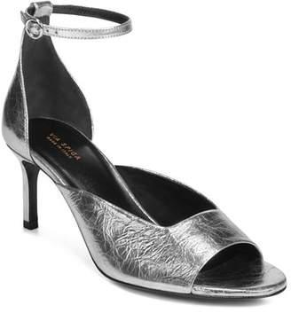 ec24d7e2ee17 Via Spiga Women s Jennie Metallic Kitten Heel Sandals