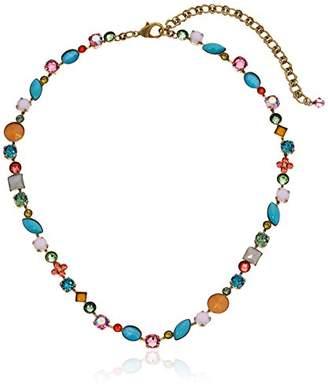 Sorrelli Happy Birthday Classic Tee-Shirt Necklace