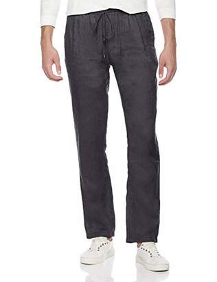 Isle Bay Linens Men's Relaxed Fit Pant with Drawstring