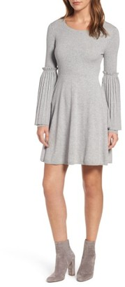 Women's Chelsea28 Bell Sleeve Sweater Dress $129 thestylecure.com