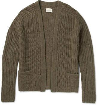 Simon Miller Ribbed-Knit Alpaca-Blend Cardigan