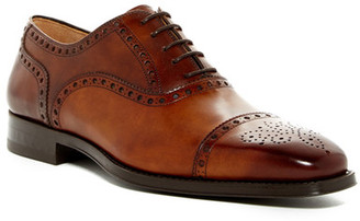 Magnanni Cieza Semi Brogue Oxford $325 thestylecure.com