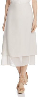Eileen Fisher Layered A-Line Skirt $328 thestylecure.com