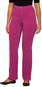 Denim & Co. Tall Comfy Knit Denim Boot-CutJeans
