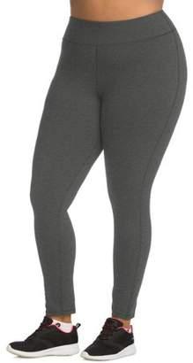 Hanes Women's Plus Size Active Full Length Legging