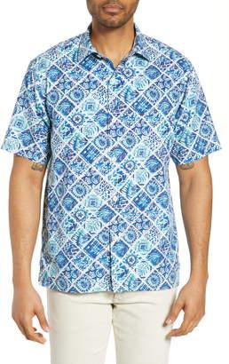 Tommy Bahama Tivoli Tiles Silk Blend Shirt
