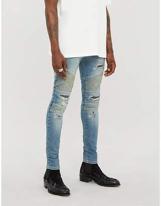 Represent Biker ripped slim-fit jeans