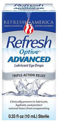 Refresh Optive® Advanced Triple-Action Relief Eye Drop $13.39 thestylecure.com