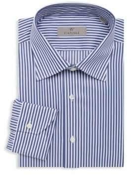 Canali Regular-Fit Striped Dress Shirt