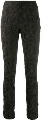 Issey Miyake slim-fit trousers