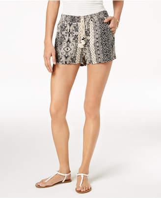 Be Bop Juniors' Printed Tassel Shorts