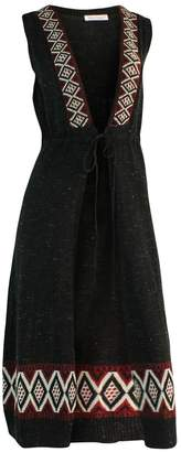 Marvy Fashion Long Vest Duster