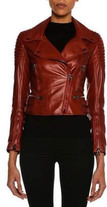 Tom Ford Lamb Leather Moto Jacket