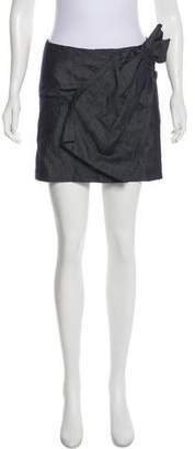 No.21 No. 21 Mini Chambray Skirt