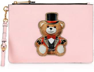 Moschino Teddy Circus Clutch