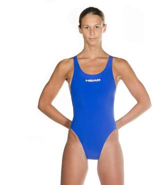 Head One Piece Elite Back High Cut Tank Compression Racing Swimsuit